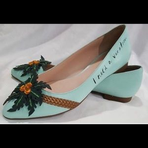 """Kate Spade New York """"I Need A Vacation Shoes"""""""